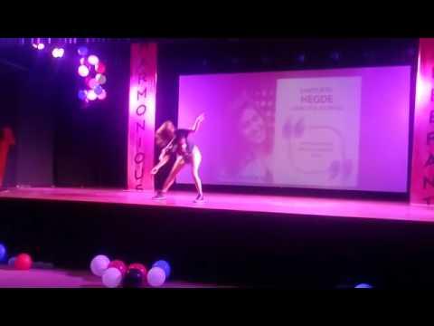 Samyukta hegde.....latest dance at new horizon