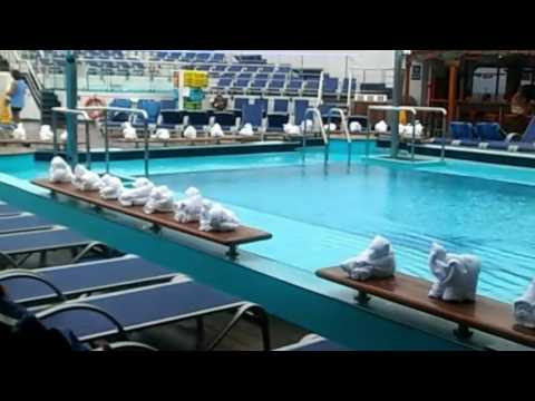 Carnival Conquest Lido and Panorama Decks