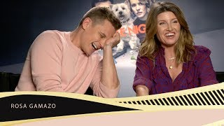 Sharon Horgan and Billy Magnussen can't stop laughing