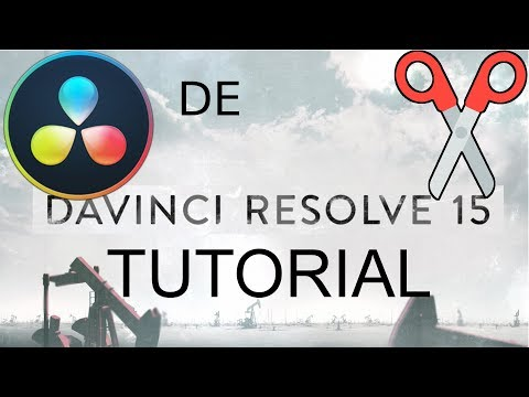 Einführung in DaVinci Resolve 15 [Tutorial] [Deutsch]