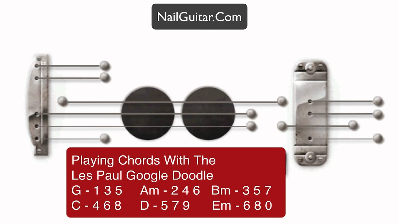 Google Doodle How To Play Chords Les Paul Internet