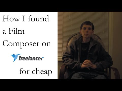 How I found a Film Composer on Freelancer for cheap