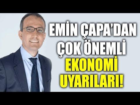 Ünlü Ekonomist Emin Çapa AKP'yi uyardı! Çok önemli ekonomi uyarıları!