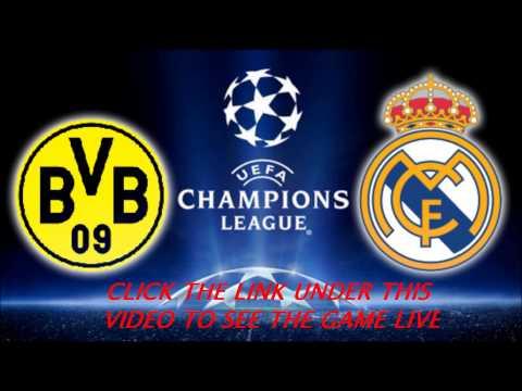 Dortmund Vs Real Madrid WATCH LIVESTREAM 24.10.2012 CL
