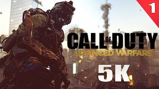 CALL OF DUTY ADVANCED WARFARE 5K PC GAMEPLAY  ►No. 1◄ | 4K Video | Dell UP2715K | ThirtyIR.com