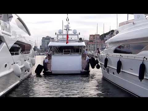 Igor Kesaev's US$ 20 Million Yacht Ilona entering Cannes