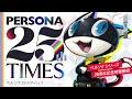 Atlus تعلن عن أول مشاريع إحتفالية مرور 25 عام على سلسلة ألعاب Persona وتحدد موعد الإعلان القادم