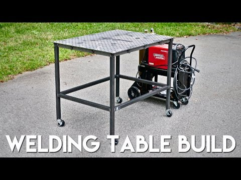 How To Build A Welding Table from WeldTables.com