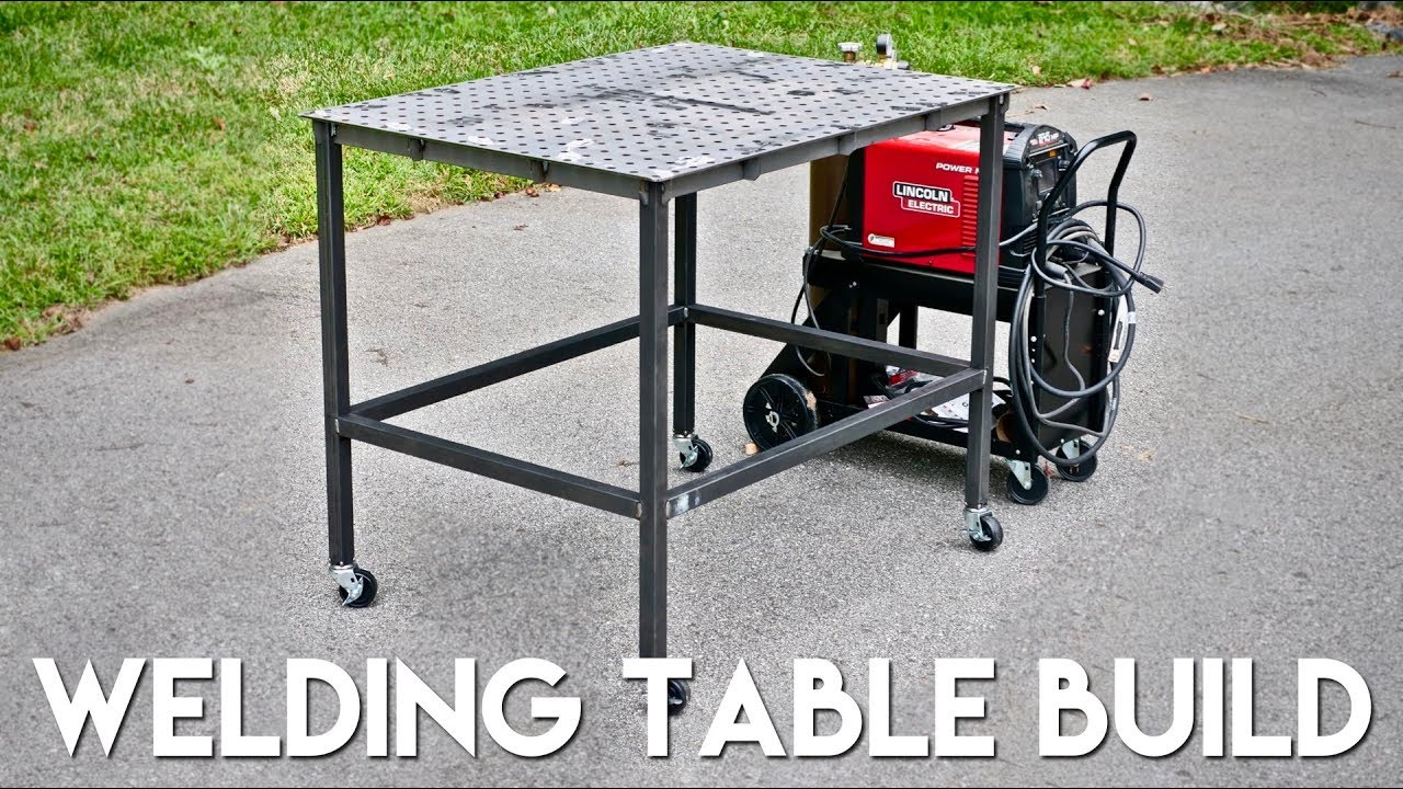 How To Build A Welding Table from WeldTables.com - YouTube