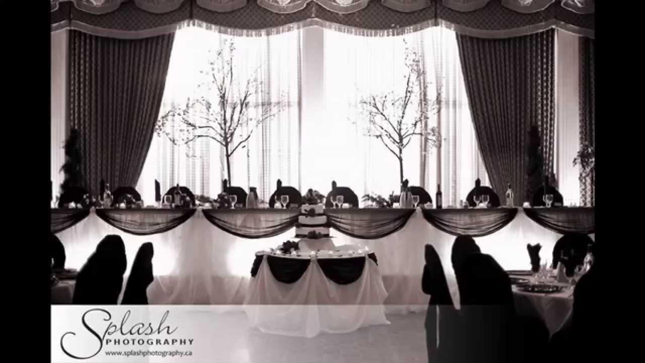 Black And White Wedding Theme Ideas
