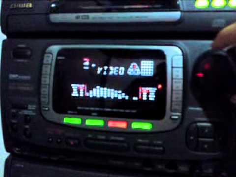 Aiwa NSX-999 MKII - tocando Tears For Fears