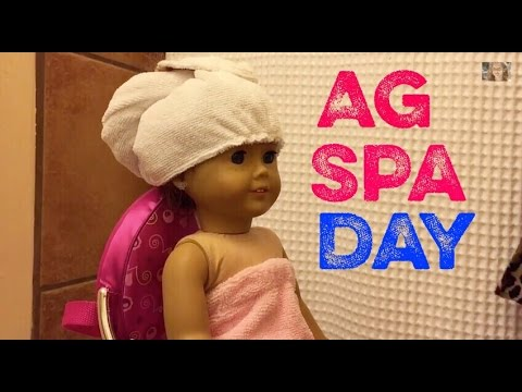 American Girl Doll Spa Day from YouTube · Duration:  3 minutes 5 seconds