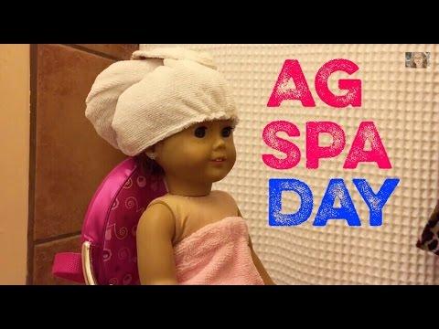 American Girl Doll Spa Day