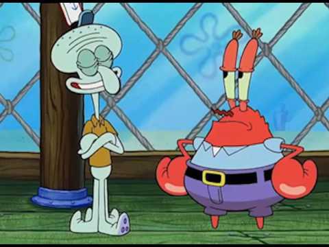 "Squidward Sings ""Bounce Back"" by Big Sean"