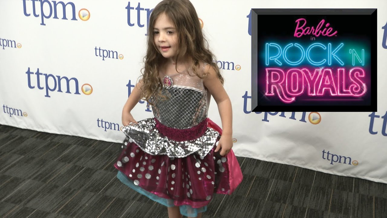 barbie in rock n royals princess courtney dress from just play