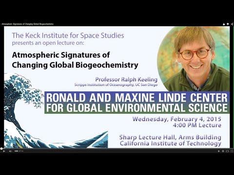 Atmospheric Signatures of Changing Global Biogeochemistry