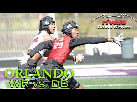 RCS Orlando 2018: WR vs. DB 1-on-1s