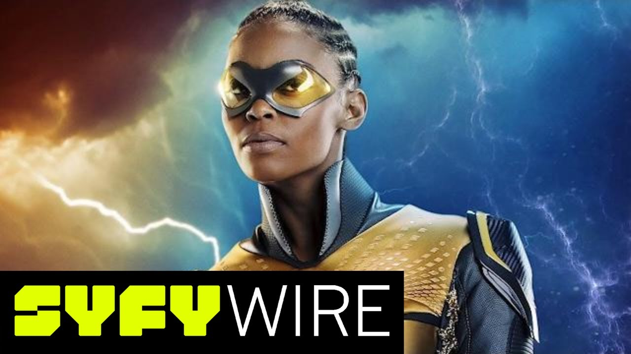 Black Lightning Cast On Pulling From Comics | SYFY WIRE - YouTube