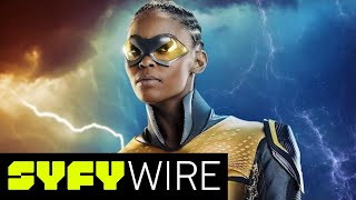 Black Lightning Cast on Pulling From Comics | SYFY WIRE