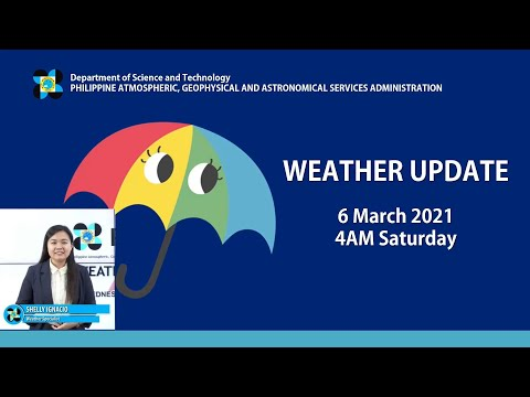 Public Weather Forecast Issued at 4:00 AM March 06, 2021