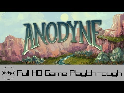 Anodyne - Full Game Playthrough (No Commentary)