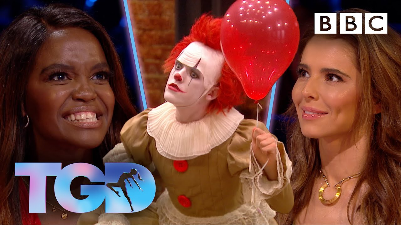 """Download Insanely athletic dark clown is """"it.com"""" for @todrickhall - The Greatest Dancer - BBC"""