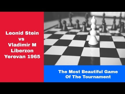Tatical Puzzle Beauty   Leonid Stein Vs Vladimir M Liberzon: Yerevan 1965