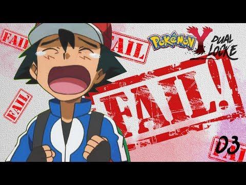 Pokémon Y DualLocke Ep.3 - ...EL PRIMER GRAN FAIL DE LA SERIE...