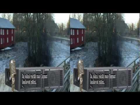 [3D] Viimeinen kevät, AtkFoto 3D- Karaoke. Noormarkku Finland