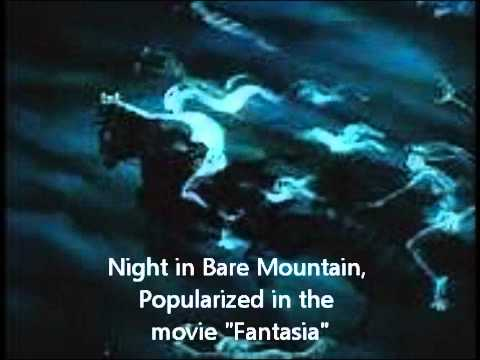 Classical Music - MUSSORGSKY - Night in Bare (bald) Mountain - from Disney's Fantasia