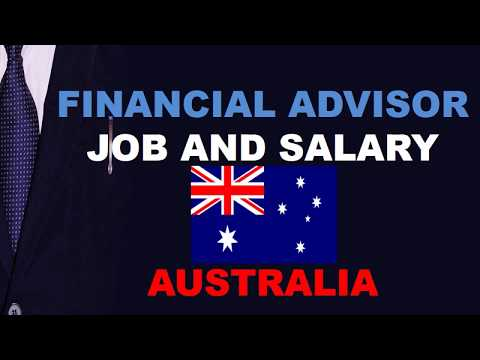 Financial Advisor Salary in Australia - Jobs and Wages in Australia