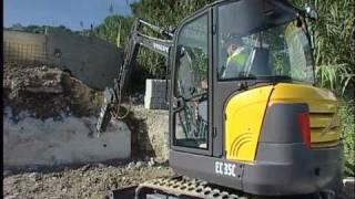 Download lagu Volvo Compact Excavators EC35C Features MP3