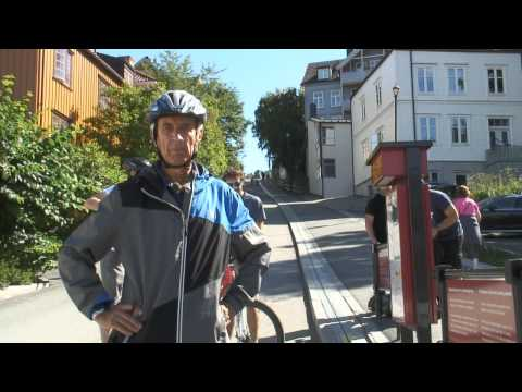 Norway's Cool In-Ground Bicycle Lift for Conquering Steep Hills