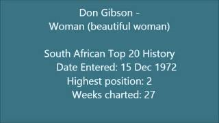 Don Gibson - Woman (beautiful woman)