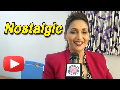 Madhuri Dixit Gets Emotional | #20YearsOfHAHK | Exclusive Interview