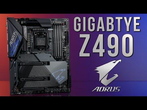 Gigabyte Z490 Motherboards: Vision G, Pro AX, Aorus Ultra, And Aorus Master