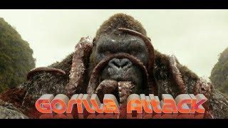 Gorilla Attadubbing in Hindi Hollywood movie || dubbing in Hindi Hollywood movie
