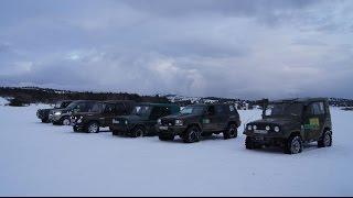 Ай-Петри Крым 2015 зима, снега по пояс, уазы на бездорожье(, 2015-01-28T20:44:43.000Z)