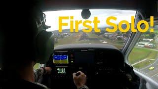 FIRST SOLO FLIGHT!!! |  Jabiru 170 |  Audio