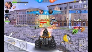 Overload: MOBA Car Shooting Android Gameplay ᴴᴰ (By Suga Studio) - Multiplayer Battle - Free Games