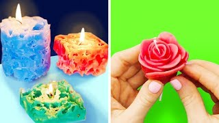 17 WAYS TO MAKE YOUR OWN CANDLES