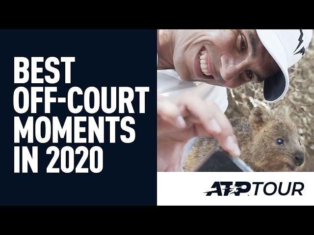 Nadal, Federer & Djokovic Bring The Fun