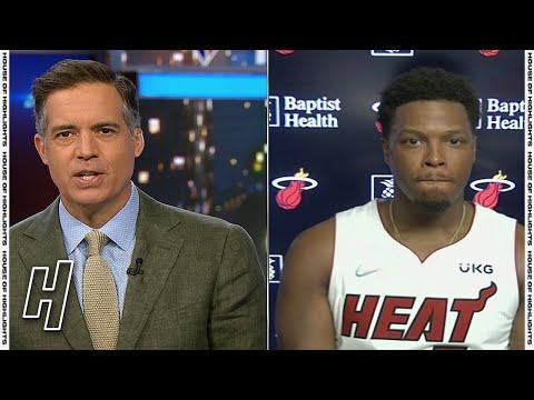 Kyle Lowry Talks Joining Miami Heat - Full Interview  | 2021 NBA Media Day