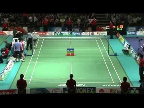 Thomas Cup 2010 Sho Sasaki vs Simon Santoso Mens Singles Semi Final 2/13 from YouTube · Duration:  4 minutes 51 seconds