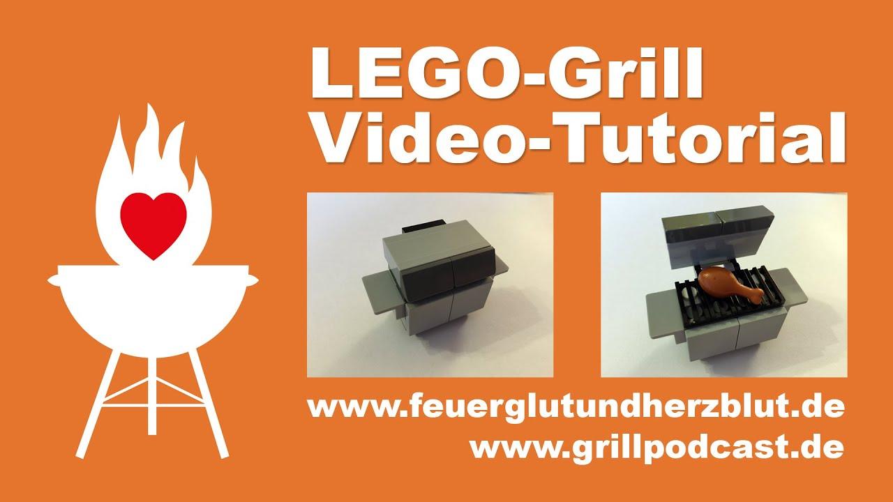 Lego Grill Bauanleitung Video Tutorial Youtube
