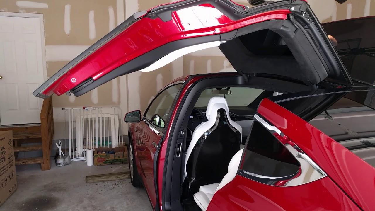 Tesla Model X Door Height Calibration Takes Time