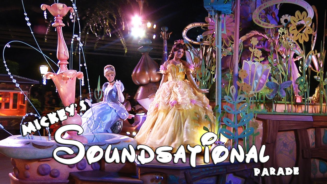 MICKEY'S SOUNDSATIONAL PARADE at Night (BEST QUALITY ...
