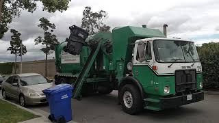 Calmet Services trash truck #125 Autocar Xpeditor