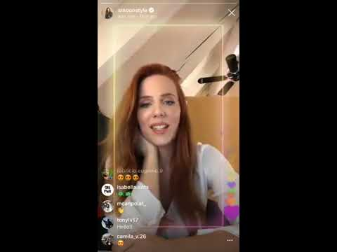 Simone Simons 22/11/18 instagram LIVE part 1 | smoonstyle