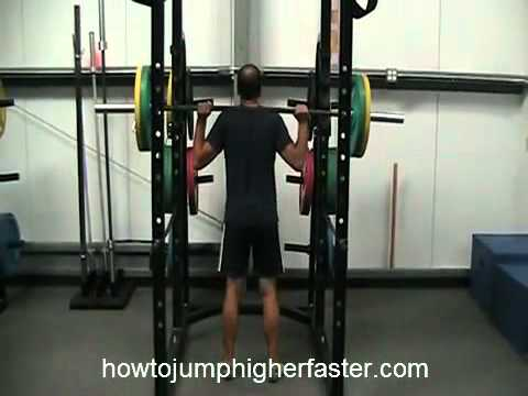how to increase vertical jump with weights